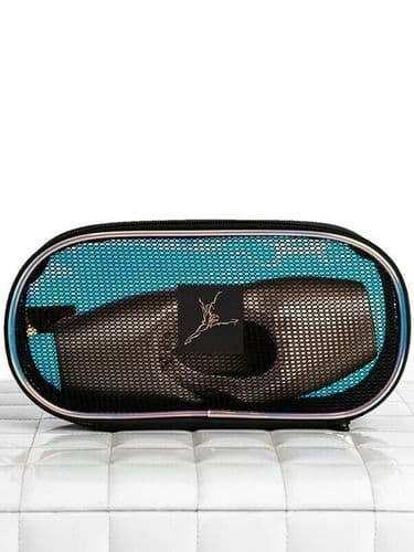 Capezio Pointe Shoe Case with Mesh Top and Irridescent Base B265